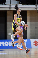 Pulse' Sulu Fitzpatrick in action during the ANZ Premiership - Pulse v Stars at Te Rauparaha Arena, Porirua, New Zealand on Wednesday 3 April 2019. <br /> Photo by Masanori Udagawa. <br /> www.photowellington.photoshelter.com