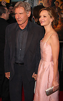 Harrison Ford, Calista Flockhart, 2008, Photo By John Barrett/PHOTOlink