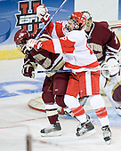 Brian O'Hanley, Brandon Yip (Cory Schneider) - The Boston College Eagles defeated the Boston University Terriers 5-0 on Saturday, March 25, 2006, in the Northeast Regional Final at the DCU Center in Worcester, MA.