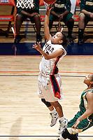 SAN ANTONIO, TX - FEBRUARY 7, 2009: The Southeastern Louisiana State University Lions vs. The University of Texas at San Antonio Roadrunners Women's Basketball at the UTSA Convocation Center. (Photo by Jeff Huehn)