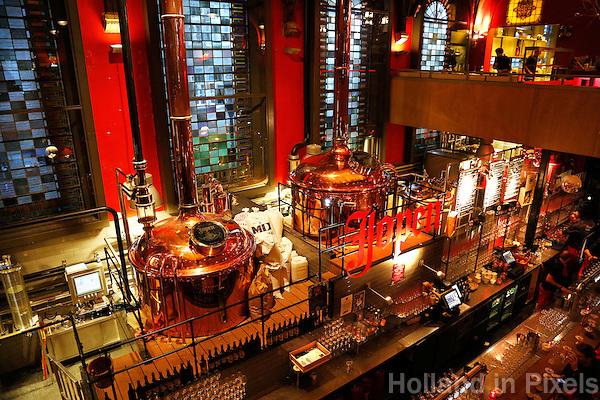 Haarlem- Bierbrouwerij / cafe / restaurant in de Jopenkerk. Hier wordt Jopenbier gebrouwen