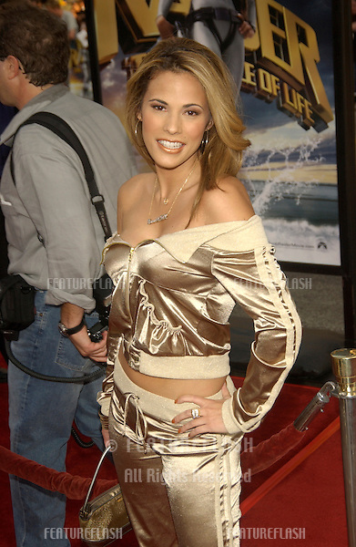 Model BONNIE-JILL LAFLIN at the world premiere of Lara Croft Tomb Raider: The Cradle of Life, at Grauman's Chinese Theatre, Hollywood..July 21, 2003