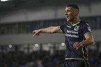 Bristol Rovers' Lee Brown during the Sky Bet League 1 match between Oldham Athletic and Bristol Rovers at Boundary Park, Oldham, England on 30 December 2017. Photo by Juel Miah / PRiME Media Images.