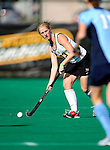 25 October 2009: University of Vermont Catamount defender Sarah Meacham, a Senior from North Hartland, VT, in action against the Columbia University Lions at Moulton Winder Field in Burlington, Vermont. The Lions shut out the Catamounts 1-0. Mandatory Credit: Ed Wolfstein Photo