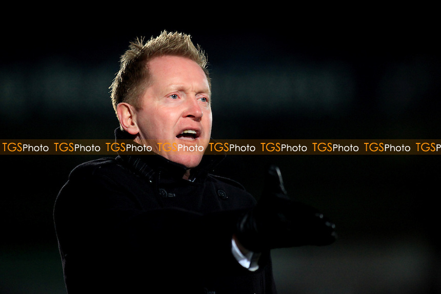 Wycombe Manager, Gary Waddock - Wycombe Wanderers vs Huddersfield Town - nPower League One Football at Adams Park, High Wycombe - 06/01/12 - MANDATORY CREDIT: Paul Dennis/TGSPHOTO - Self billing applies where appropriate - 0845 094 6026 - contact@tgsphoto.co.uk - NO UNPAID USE.
