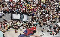 OLINDA-PE-07.02.2016- CARNAVAL-PE- Folioes se divertem no bloco Enquanto Isso na Sala da Justiça em Olinda, neste domingo, 07.(Foto: Jean Nunes/Brazil Photo Press)
