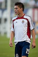 Chivas USA defender Jorge Flores (19)