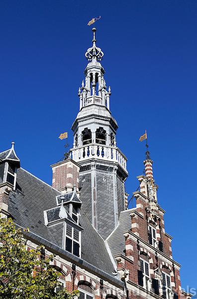 Stadhuis van Franeker. Raadhuis in friese Renaissancestijl