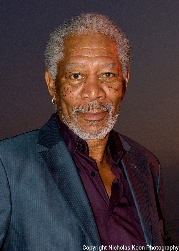 Actor Morgan Freeman at an Oceana fundraiser in Laguna Beach on 7/29/12.....