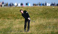 AP McCoy hits an approach during Round 3 of the 2015 Alfred Dunhill Links Championship at the Old Course, St Andrews, in Fife, Scotland on 3/10/15.<br /> Picture: Richard Martin-Roberts | Golffile