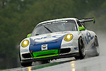 The Tafel Racing Porsche GT3 Cup driven by Andrew Davis and and Jim Tafel at the Emco Gears Classic at Mid-Ohio, 2006<br /> <br /> Please contact me for the full-size image<br /> <br /> For non-editorial usage, releases are the responsibility of the licensee.