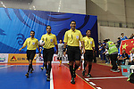 Lokomotive Tashkent vs Shenzhen Nagling during the 2014 AFC Futsal Club Championship Group Stage A match on August 26, 2014 at the Shuangliu Sports Centre in Chengdu, China. Photo by World Sport Group