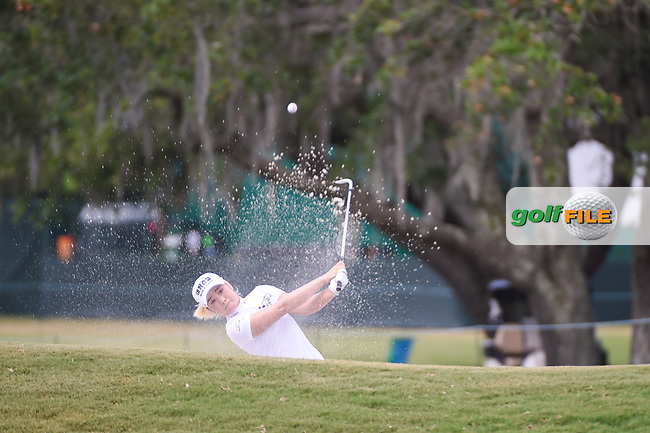 Jeongeun6 Lee (KOR) hits from trap to trap on 9 during round 2 of the 2019 US Women's Open, Charleston Country Club, Charleston, South Carolina,  USA. 5/31/2019.<br /> Picture: Golffile | Ken Murray<br /> <br /> All photo usage must carry mandatory copyright credit (© Golffile | Ken Murray)