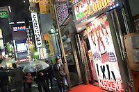 "Sexual estetique salon ""Love plus"" provides massage to men by young girls in Kabukicho, Shinjuku, Tokyo"
