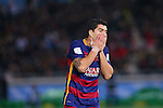Luis Suarez (Barcelona), <br /> DECEMBER 20, 2015 - Football / Soccer : <br /> FIFA Club World Cup Japan 2015 <br /> Final match between River Plate 0-3 Barcelona  <br /> at Yokohama International Stadium in Kanagawa, Japan.<br /> (Photo by Yohei Osada/AFLO SPORT)