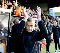 Cambridge United manager Colin Calderwood<br /> <br /> Photographer Andrew Vaughan/CameraSport<br /> <br /> The EFL Sky Bet League Two - Cambridge United v Lincoln City - Saturday 29th December 2018  - Abbey Stadium - Cambridge<br /> <br /> World Copyright © 2018 CameraSport. All rights reserved. 43 Linden Ave. Countesthorpe. Leicester. England. LE8 5PG - Tel: +44 (0) 116 277 4147 - admin@camerasport.com - www.camerasport.com