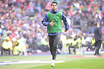 Real Madrid's Alvaro Morata during La Liga match between Real Madrid and Valencia CF at Santiago Bernabeu Stadium in Madrid, April 29, 2017. Spain.<br /> (ALTERPHOTOS/BorjaB.Hojas)