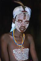 Omo Valley, Ethiopia 2006 . Agore, Boy from Erbore tribe, Ethiopia, 2006