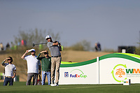 Chris Kirk (USA) during the 1st round of the Waste Management Phoenix Open, TPC Scottsdale, Scottsdale, Arisona, USA. 31/01/2019.<br /> Picture Fran Caffrey / Golffile.ie<br /> <br /> All photo usage must carry mandatory copyright credit (&copy; Golffile | Fran Caffrey)