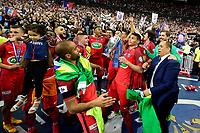 Esultanza PSG  con la coppa <br /> <br /> Parigi 27-05-2017 Stade de France <br /> Angers - Paris Saint Germain PSG Finale Coppa di Francia 2016/2017  <br /> Foto JB Autissier/ Panoramic/insidefoto