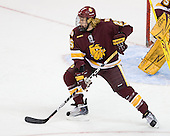 Justin Faulk (Duluth - 25) - The University of Minnesota-Duluth Bulldogs defeated the Union College Dutchmen 2-0 in their NCAA East Regional Semi-Final on Friday, March 25, 2011, at Webster Bank Arena at Harbor Yard in Bridgeport, Connecticut.