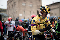 Laurens De Plus (BEL/Jumbo-Visma) at the start<br /> <br /> Stage 2: Bologna to Fucecchio (200km)<br /> 102nd Giro d'Italia 2019<br /> <br /> ©kramon