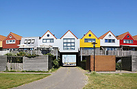 Nederland  Stavoren 2017. Nieuwbouw aan de haven in Stavoren.  Foto Berlinda van Dam / Hollandse Hoogte