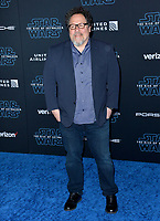 "LOS ANGELES, USA. December 17, 2019: Jon Favreau at the world premiere of ""Star Wars: The Rise of Skywalker"" at the El Capitan Theatre.<br /> Picture: Paul Smith/Featureflash"