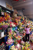 Flower seller, Saigon, Ho Chi Minh City, Vietnam