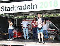 Landrat Thomas Will ehrt die Sieger beim Stadtradeln - Mörfelden-Walldorf 15.07.2018: 10. MöWathlon