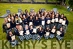 Students from Presentation Secondary School, Tralee, attending the 6th year graduation on Friday last.