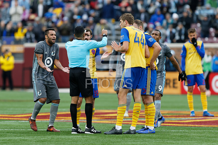 Minneapolis, MN - Saturday, October 13, 2018: Minnesota United FC played Colorado Rapids in a Major League Soccer (MLS) game at TCF Bank stadium. Final score Minnesota United 0, Colorado Rapids 2