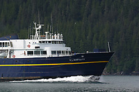 Alaska Marine Ferry, EL BARTLETT, Passage Canal, Chugach mountains, Prince William Sound, Alaska