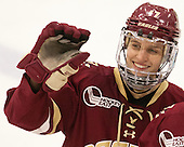 Meghan Grieves (BC - 17) - The visiting Boston College Eagles defeated the Harvard University Crimson 2-0 on Tuesday, January 19, 2016, at Bright-Landry Hockey Center in Boston, Massachusetts.