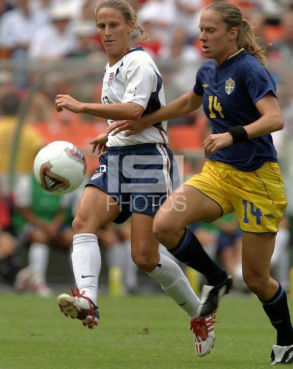 Kristine Lilly, 2003 WWC USA Sweden.