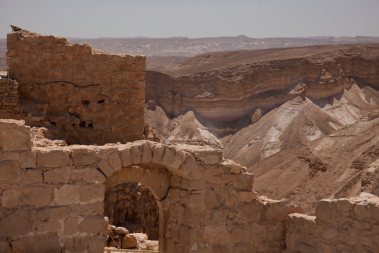 Formerly King Herod's getaway palace situated high above the Dead Sea, Masada is better known as the Jews last stronghold against the Romans in 73 A.D.