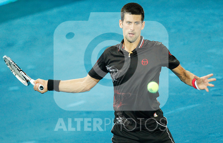 during Mutua Madrid Open 2012 match on may 10th 2012...Photo: Cesar Cebolla / ALFAQUI