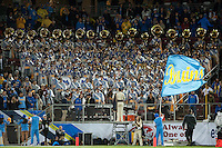 STANFORD, CA-NOVEMBER 30, 2012 - The UCLA Band plays for their crowd during the PAC-12 Championship at Stanford Stadium.
