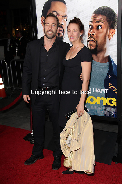 HOLLYWOOD, CA - January 13: Bryan Callen and wife at the &quot;Ride Along&quot; World Premiere, TCL Chinese Theater, Hollywood, January 13, 2014. <br /> Credit: MediaPunch/face to face<br /> - Germany, Austria, Switzerland, Eastern Europe, Australia, UK, USA, Taiwan, Singapore, China, Malaysia, Thailand, Sweden, Estonia, Latvia and Lithuania rights only -