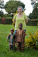 """I didn't come intending to adopt, but I really think that's the reason I came here. The first day I got to Amani, volunteers would take the kids to town and Emmett was the first kid I took out. I was at Amani several months before it occurred to me about adopting. A friend back home had adopted a little girl from China and she is single. I remember thinking that my friend was very brave and I could never do that. I like my independence. I like being single. I also didn't have a job at the time because I was volunteering. One day on a bus to Kampala, I was praying and God made it clear to me I wasn't willing to adopt. And then he showed me really clearly that I was supposed to take Emmett."" Amy Blevins"