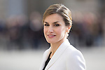 Queen Letizia of Spain during the Military Eastern (Pascua Militar) at the Royal Palace in Madrid, Spain. January 06, 2015. (ALTERPHOTOS/Pool)
