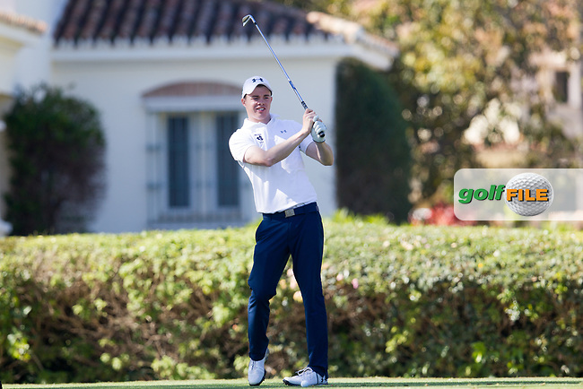 Stuart Grehan (IRL) during the 1st round of the European Nations Cup, Real Club de Golf Sotogrande, Paseo del Parque, 11310 Sotogrande, C&aacute;diz  29/03/2017.<br /> Picture: Golffile | Fran Caffrey<br /> <br /> <br /> All photo usage must carry mandatory copyright credit (&copy; Golffile | Fran Caffrey)
