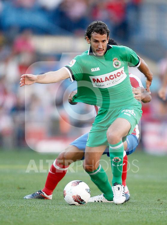 Racing de Santander's Christian Stuani during La Liga Match. September 18, 2011. (ALTERPHOTOS/Alvaro Hernandez)