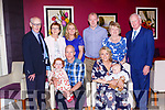 Fionn Michael O'Donoghue, Muckross celebrated his christening with his parents David and Anita, big sister Ellie, god parents Stephen O'Donoghue and Marina White granparents Michael aaand Cecily O'Donoghue and Nell and Donie Cremin in the Gleneagle Hotel on Saturday