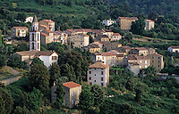 France/Corse/Corse-du-Sud/2A/Péri: Le village