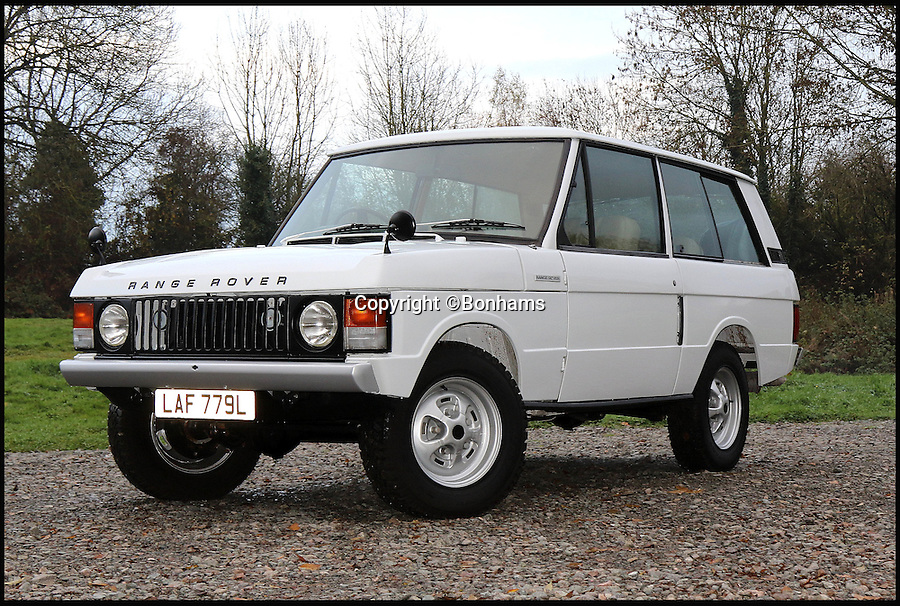BNPS.co.uk (01202 558833)<br /> Pic: Bonhams/BNPS<br /> <br /> This 45-year-old Range Rover has appreciated in value by a whopping 2,000% - making it worth almost as much as a brand new model. <br /> <br /> The old motor shown here was bagged for a bargain &pound;2,448 in 1973 but buyers now can expect to pay up to &pound;55,000 when it goes to auction. <br /> <br /> Unbelievably, this price is almost the same as what someone would pay for the 2016 version, which starts at &pound;59,000.  <br /> <br /> Auto experts say the incredible surge in value is down to the timeless, functional and familiar designs adopted by the marque in its early days.