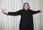 "Lorna Luft attends the press reception for ""Songs My Mother Taught Me: The Judy Garland Songbook"" at Feinsteins in New York City."