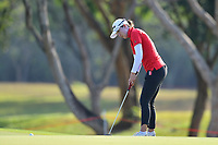 PATTAYA, THAILAND - FEBRUARY 22: Lindy Duncan of USA 3rd shot on the 2nd green during the second round of the Honda LPGA Thailand 2019 at Siam Country Club Pattaya (Old Course), Pattaya, Thailand on February 22, 2019.<br /> .<br /> .<br /> .<br /> (Photo by: Naratip Golf Srisupab/SEALs Sports Images)<br /> .<br /> Any image use must include a mandatory credit line adjacent to the content which should read: Naratip Golf Srisupab/SEALs Sports Images