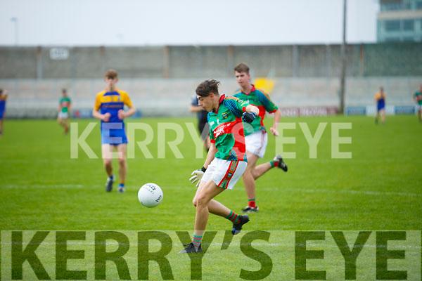 Lee Strand U16 County District Championship Football Plate Final Mid Kerry V Kenmare.  Mid Kerry Killian Murphy