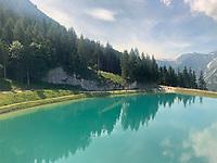 Bergsee auf dem Jenner - Berchtesgaden 17.07.2019: Fahrt auf den Jenner
